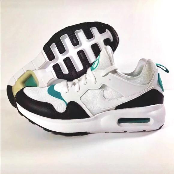 los angeles f20d9 9088b Nike Air Max Prime Men s Running Shoes White Black